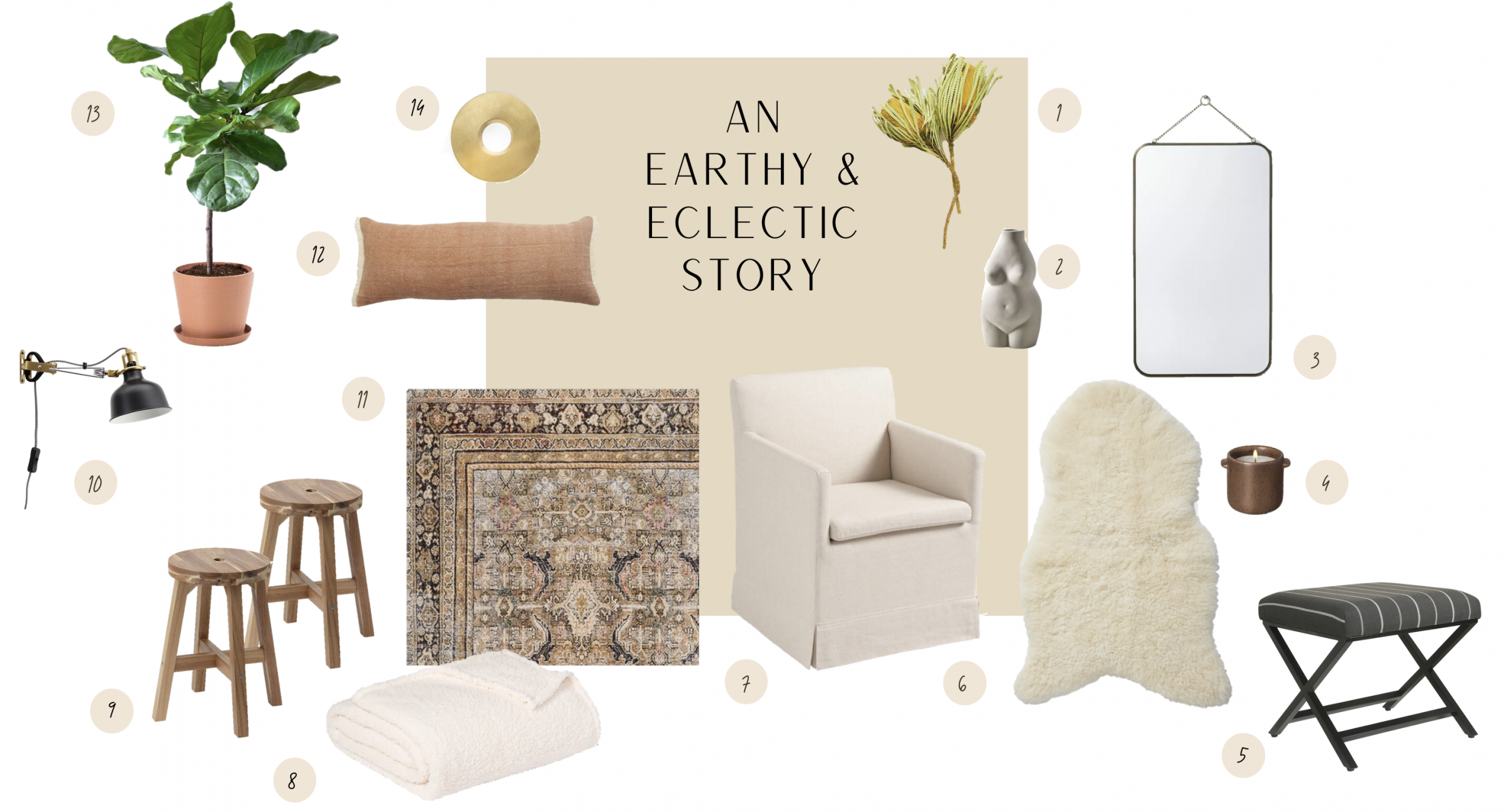 Bedroom Decor Product Roundup, Interior Styling